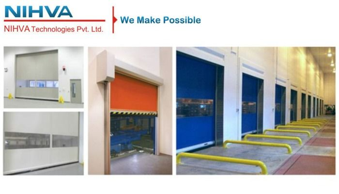 High Speed Door Manufacturers In India Complete Automation Solutions Door Manufacturer Material Handling Equipment Solutions