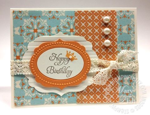 104 best stampin 39 up everyday enchantment dsp images on for Stampin pretty craft room