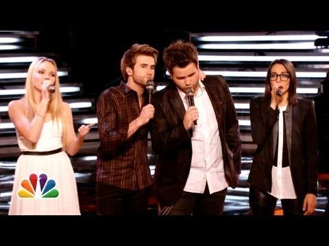 "Danielle, Michelle and The Swon Brothers: ""Home"" - The Voice Highlight - YouTube"