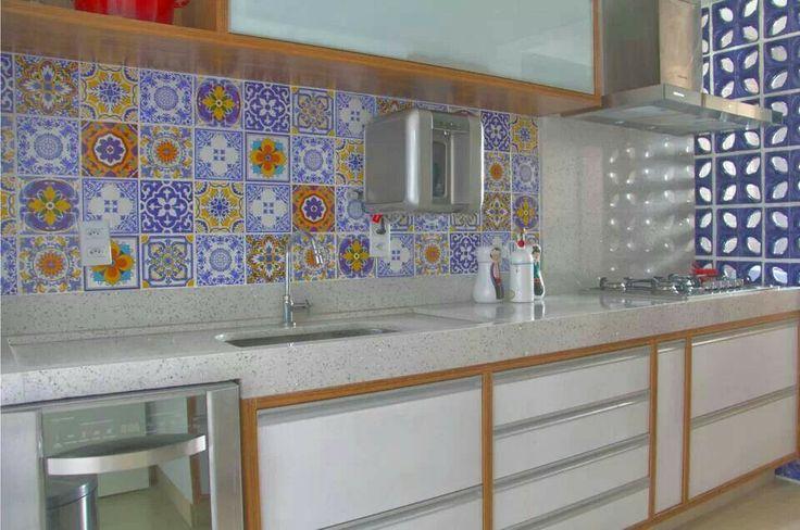52 melhores imagens sobre azulejo portugues bancada no pinterest portugu s azulejos turcos e - Azulejo sobre azulejo ...