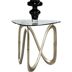 picture of Modern Art Metal End Table from End Tables Furniture