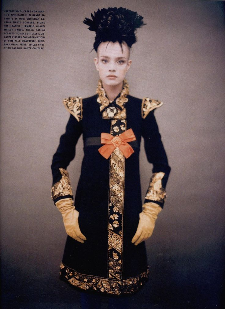 Natalia Vodianova photographed by Paolo Roversi - Vogue Italia: September 2006 - Like A Painting  (via: maliciousglamour)