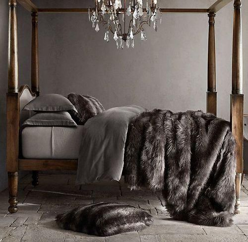 Giving your home sex appeal can do wonders for your confidence, as well as reflect exactly how you feel on the inside. Surround yourself with fabrics, textiles and throws that are luxurious and sensual to the touch - we highly recommend a healthy dose of faux fur. Whether it's a throw on your bed or