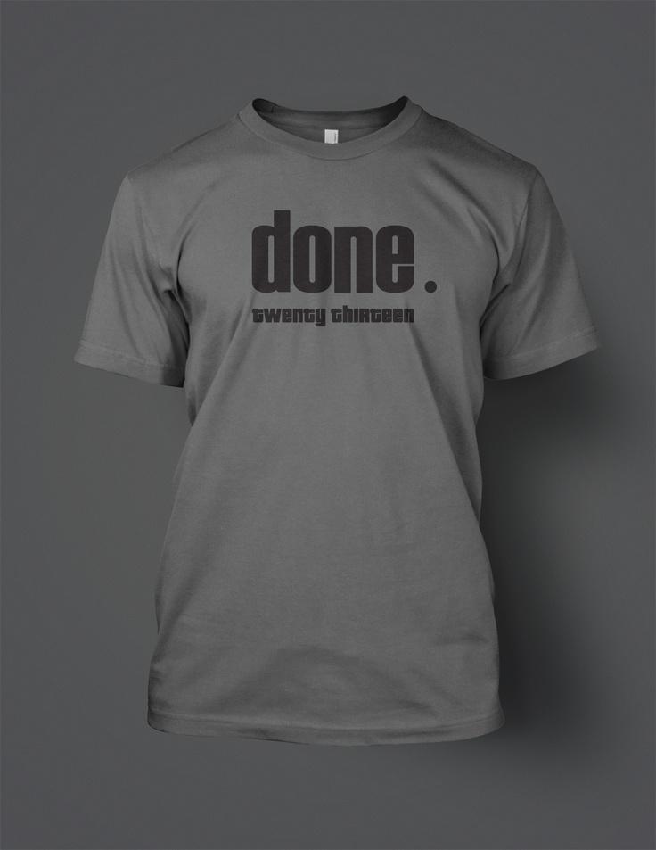 Fun t-shirt for class of 2013