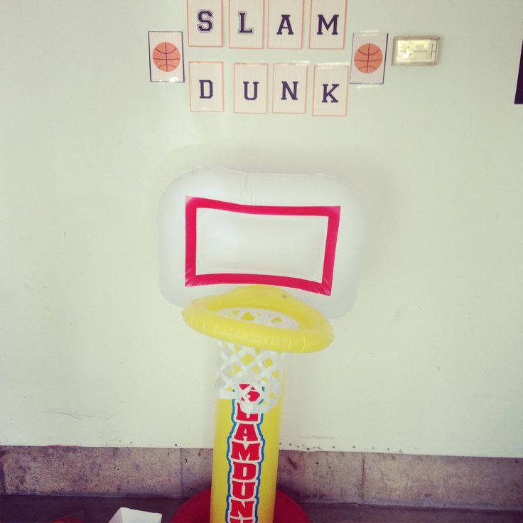 17 Best Images About Basketball Theme Birthday Bash!!! On