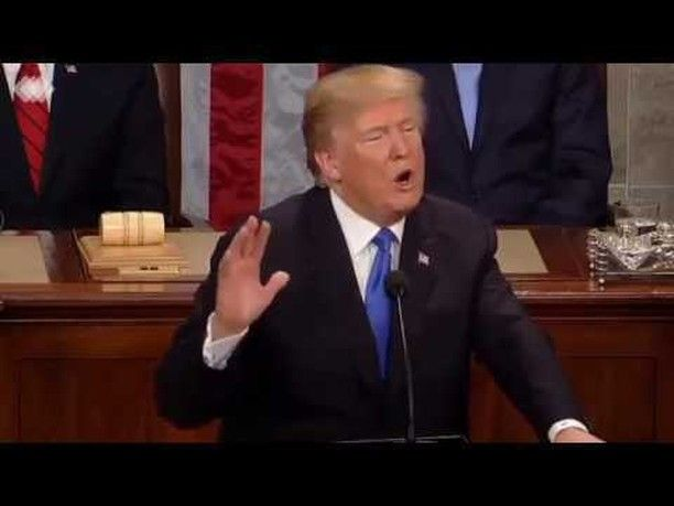 Trump reminds us all why we honor our soldiers. The only people not standing and cheering were the Never Trumpers. Truly sad. http://deplorables.us/house-erupts-with-trumps-simple-words-this-is-why-we-stand-for-the-national-anthem/
