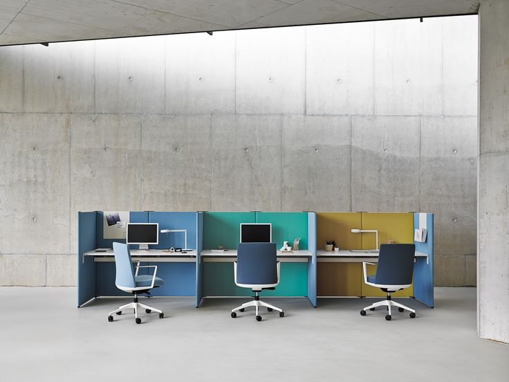 Link: The Versatile and Modular Office #work #workstation # shapes #office #workspace #desk #workstation #colours #upholstered #modular #configurations #functional #interiors #design #architectural #space #accessories