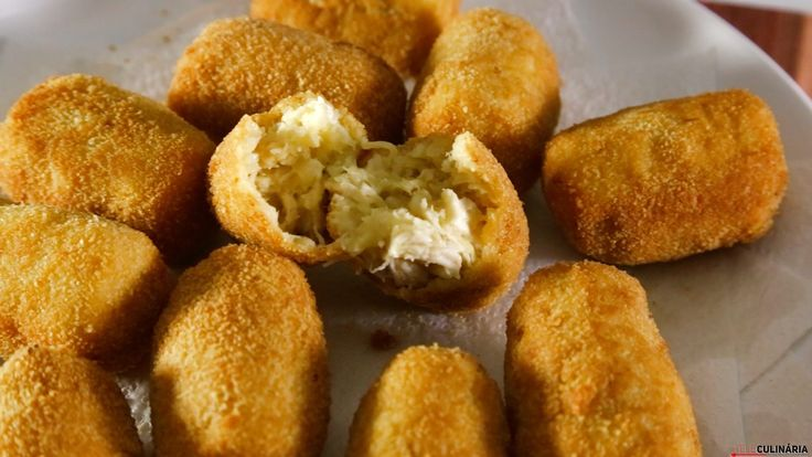 Receita de Croquetes de frango. Descubra como cozinhar Croquetes de frango de maneira prática e deliciosa!