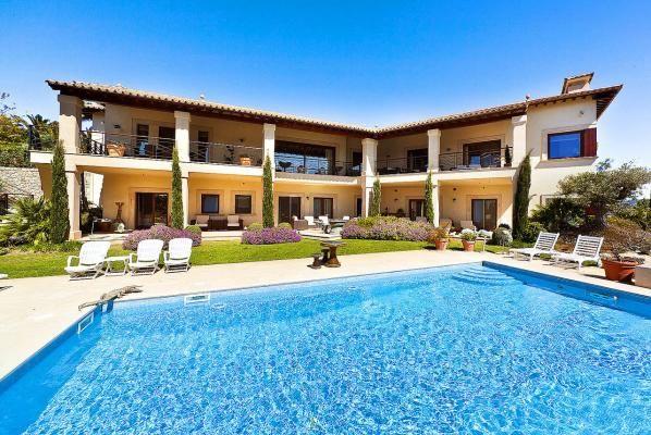 Exquisite #luxury #villa with sea views in #mallorca