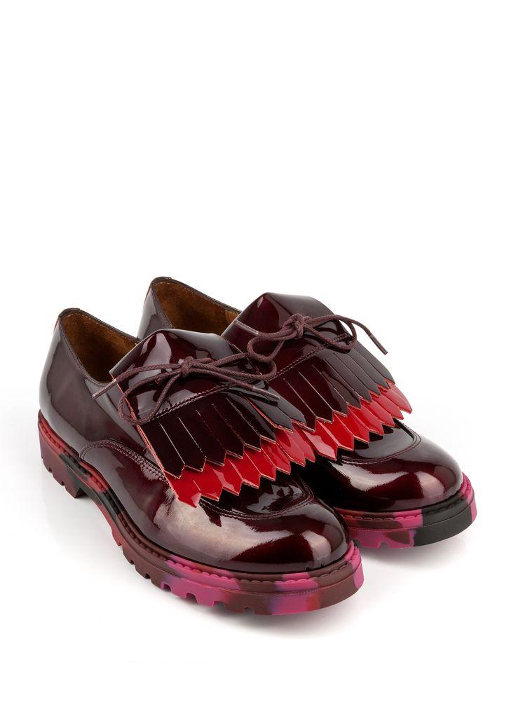derby tioursin bordeaux derby mocassins chaussures femme femme des jolies chaussures. Black Bedroom Furniture Sets. Home Design Ideas