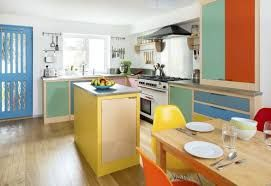 Image result for colourful kitchen