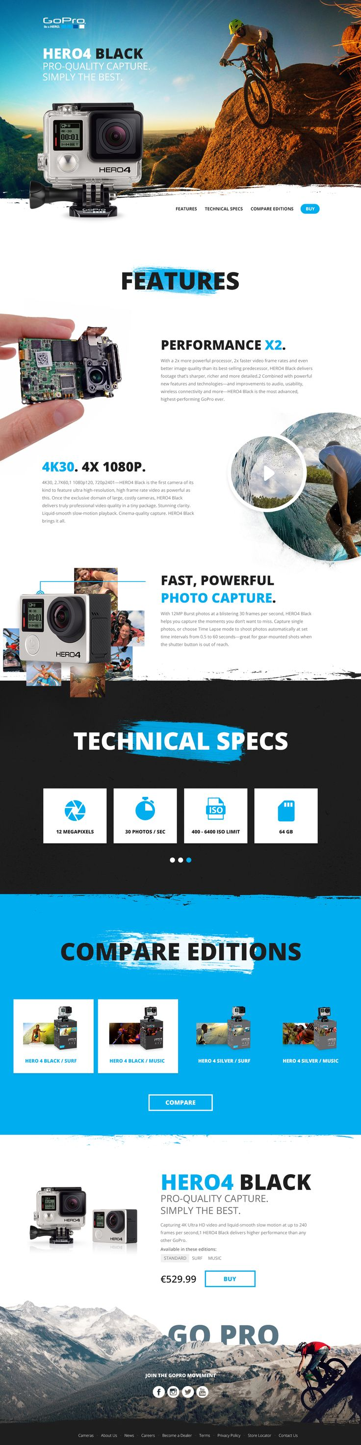 GoPro Redesign by Seeger Mattijs