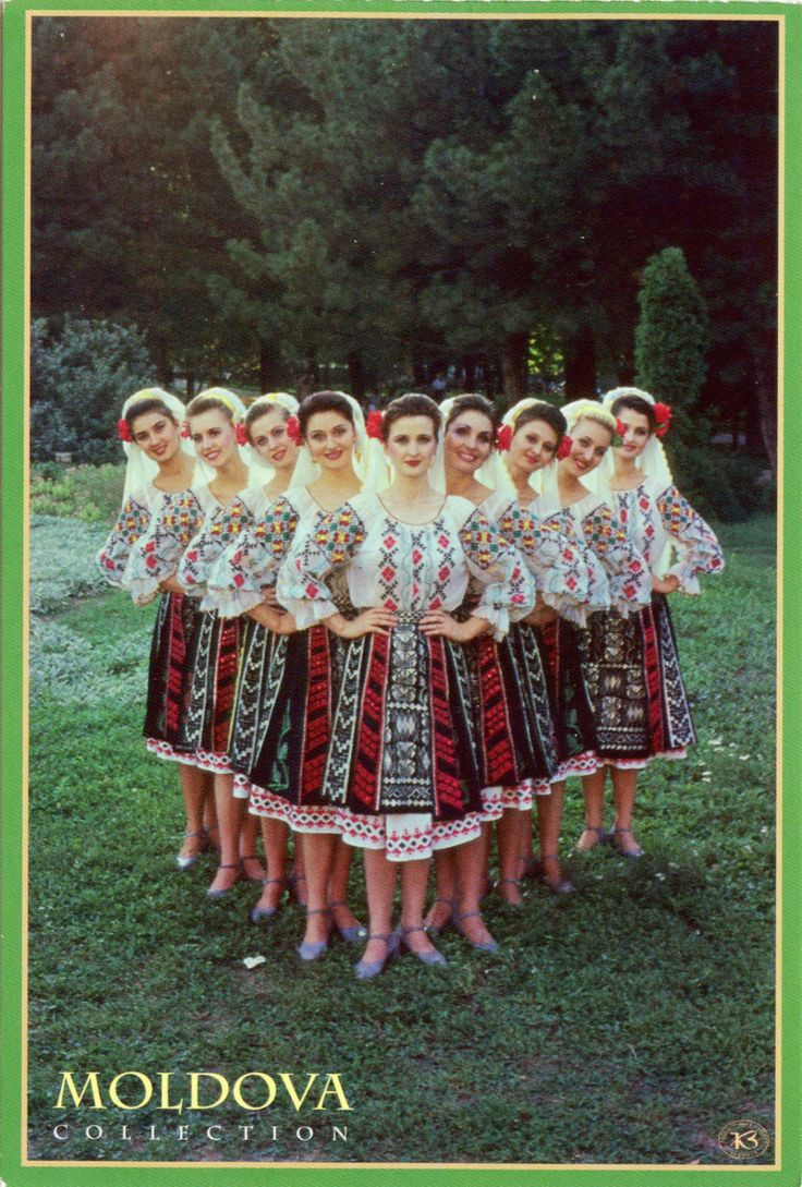 Moldovan Folk Dance National Folklore Dance (European
