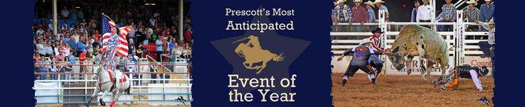 Celebrate at the World's Oldest Rodeo | Prescott, AZ | Prescott Frontier Days®, Inc.