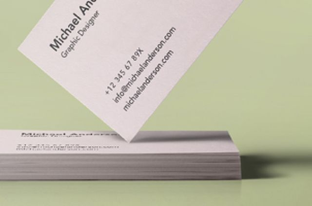 A new simple and effective psd business card mockup to showcase your brand design in style. You can easily add your...