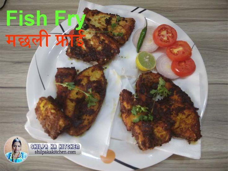 Fish Fry   मछली फ्राई - Fish Fry is is very Popular Recipe of West Bengal. Bengali People eat this Recipe almost everyday. You can make Fish Fry with any Popular Fish / Mach like Katla / Catla Mach, Rohu (Rui Mach), Tilapia Fish, Koi Fish, Bhetki Fish, Catfish, Tangra, Magur, Sole (Solea), Shingi, Pabda, Rava Fish etc.