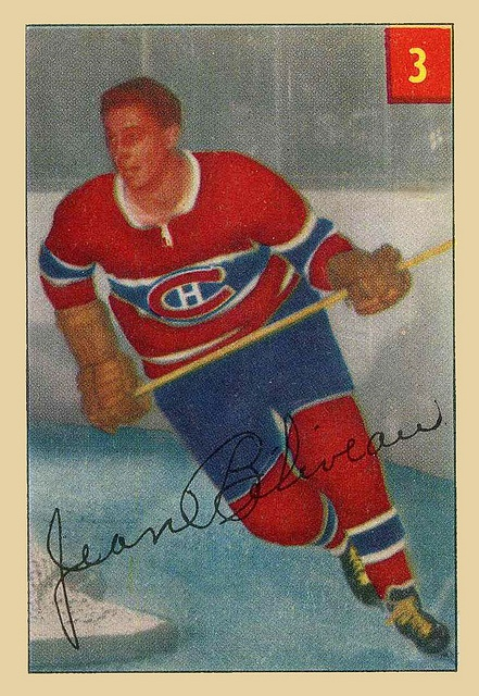 1954-55 Parkies #3 Jean Béliveau