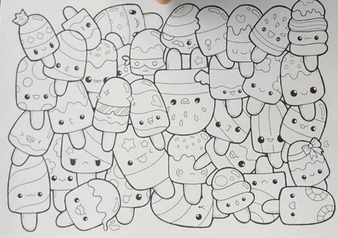 drawings doodle drawing easy designs kawaii doodles