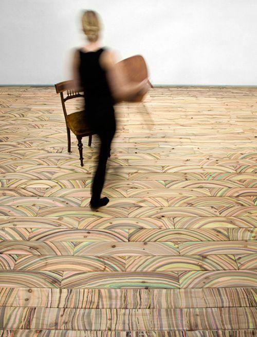 Awesome Wood Floors - Marbelous by Snedker Studio