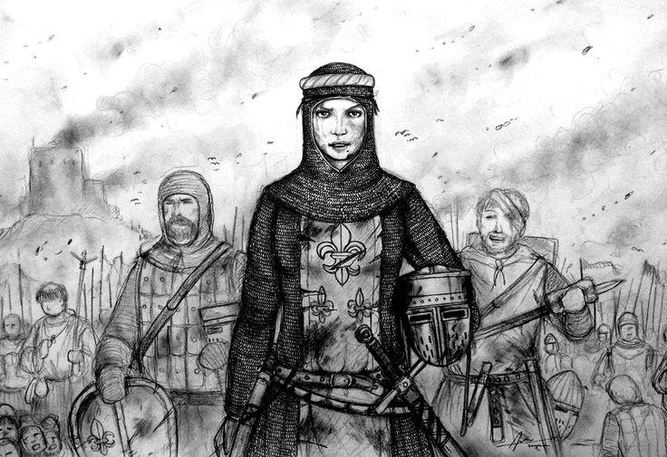 Comtesse lodie de Clotaire of Royaume de Franconie by Gambargin on deviantART