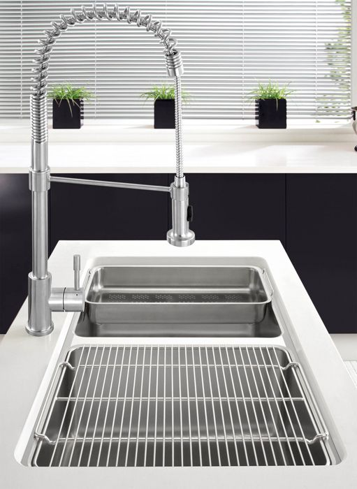Image 3 Of Franke Kubus KBX 120 34 34 Stainless Steel 2.0 Bowl Undermount  Sink