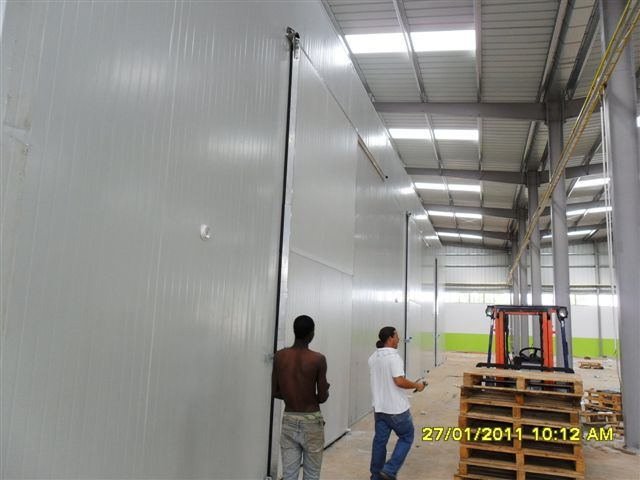 Angola Fruit Project - 2  #refrigerationroom by Africhill at http://www.aboard.co.za/refrigeration.html