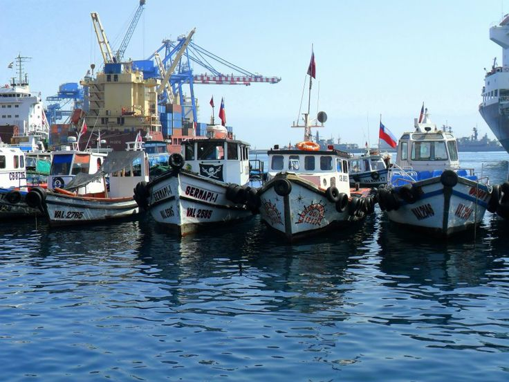 Puerto Valparaiso- Valparaiso- Chile