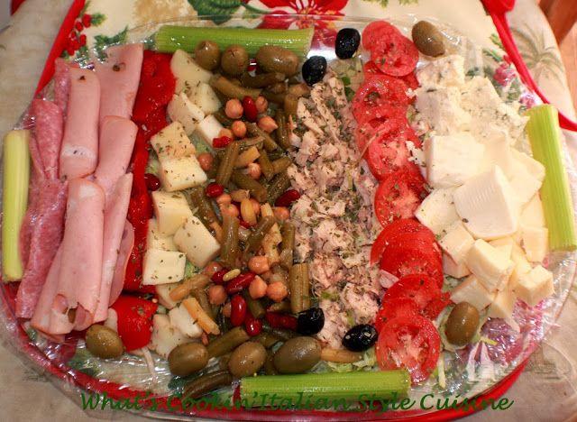 What's Cookin' Italian Style Cuisine: Antipasto for Christmas Eve Recipe Italiano