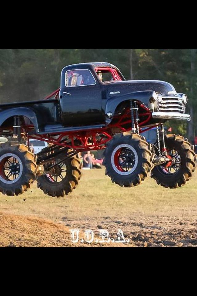 171 best jacked up trucks and classic cars! images on Pinterest ...