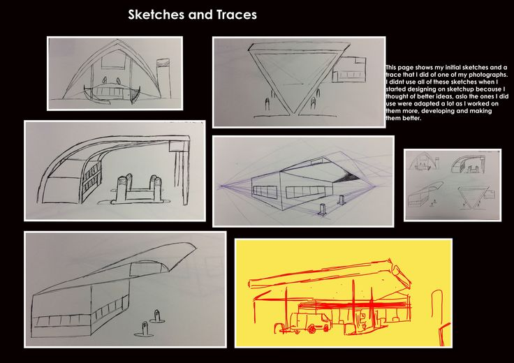 Sketches and Traces