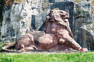 Bartholdi's Lion of Belfort