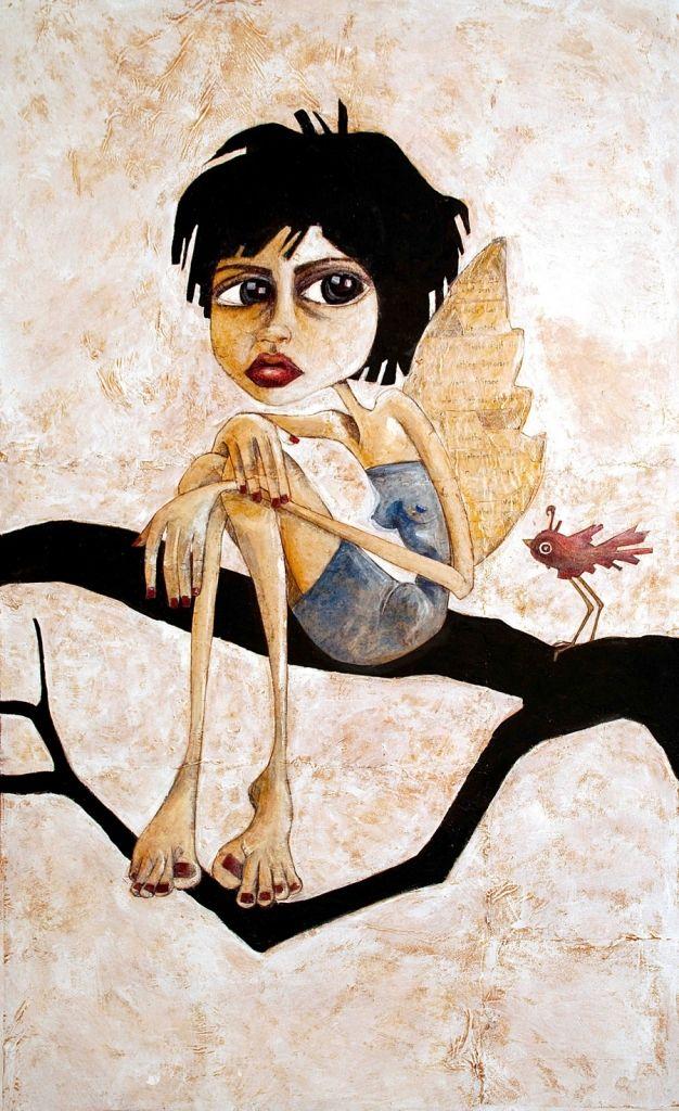 Melanie Jai, Mixed Media Artist. According to You. #melaniejaiart #melaniejai #artwork #experience #inspire #painting #portrait #gallery #artgallery #asd #illustration #artuncovered #modernart #mixedmedia