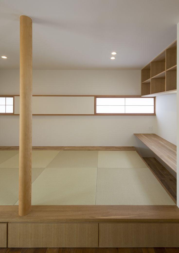 畳コーナー(ながよしの家)- リビングダイニング事例