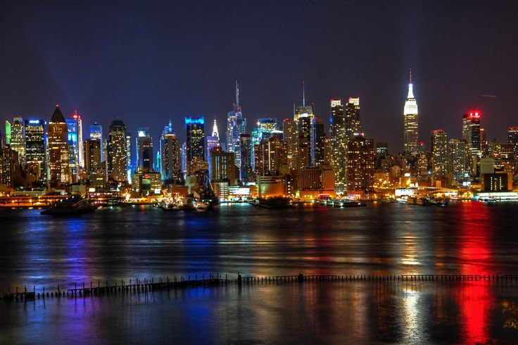 New York City Skyline by Sam Anwar on 500px