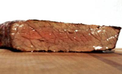 Steak Medium Well