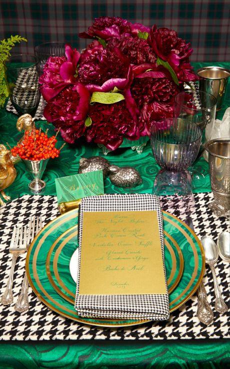 Bronson van Wyck Tabletop Setting For Eight by Bronson van Wyck Now Available on Moda Operandi #themothemerrier: