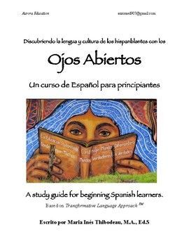 Self-study guide for learning Spanish. This book is based on the best learning strategies for second language acquisition. Each lesson starts with a dialog, and then has goals, explanation of verbs; then ends with a quote in Spanish and suggestions for