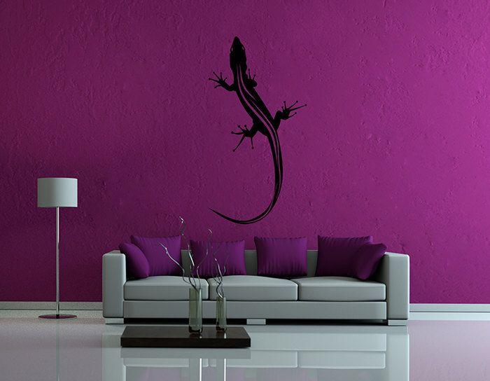kik63 Wall Decal Sticker lizard salamander animal living room bedroom