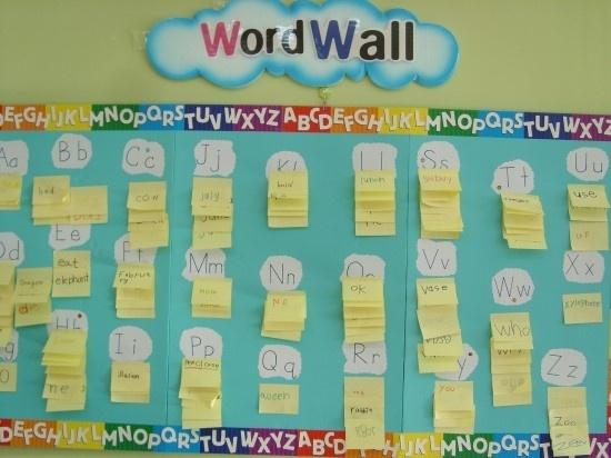 WordWall(단어벽)  해당 알파벳으로 시작하는 단어들 찾아보기