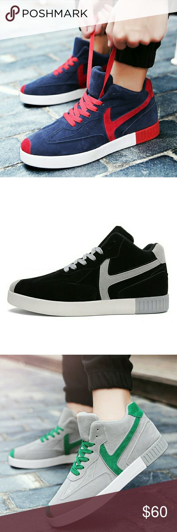 Casual Hightop Sneakers They are selling on our online store at www.thokoplace.com and available in different colors. Sizes 6 to 10 in stock. Shoes Sneakers