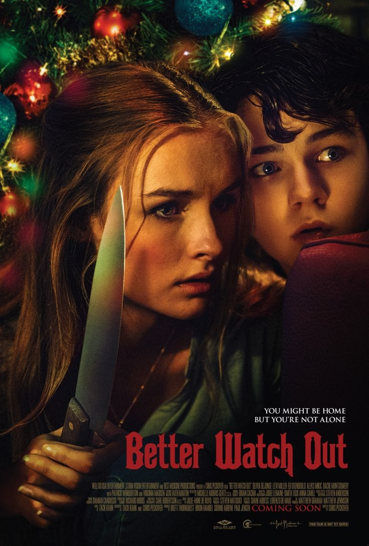 'Christmas gets ugly' Better Watch Out – aka Safe Neighborhood– is a 2016 Australian black comedyhorror thriller directed by Chris Peckover from a screenplay co-written wi…