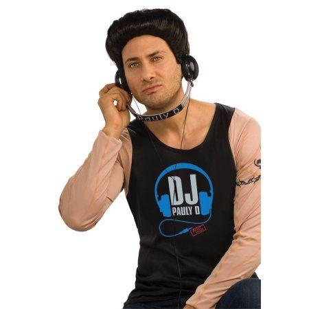 Jersey Shore - Paul ''dj Pauly D'' Adult DJ Headphones, Silver