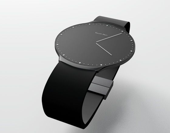 Montre OLED Tactile Touch Skin Watch par Niels Astrup