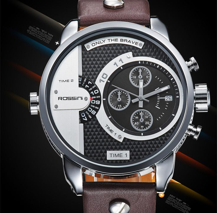 In this article, charismatic and cool watches for men with you. There are some good watch brands.