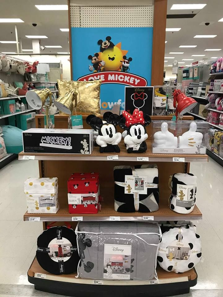 722c93c7c New Love Mickey Home Collection By Pillowfort at Target | Mickey ...
