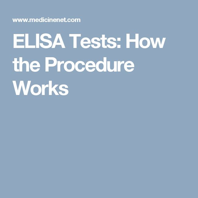 ELISA Tests: How the Procedure Works