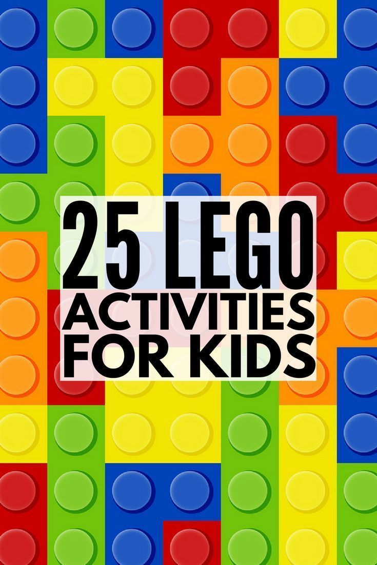 When it comes to LEGO and learning, the possibilities are endless. We've rounded up 25 of our favorite LEGO activities for kids which are perfect for preschool, kindergarten, or learning at home. From alphabet learning cards to counting and measuring challenges to science scavenger hunt ideas, these offer an excellent spin on education. We've included a couple of STEM activities as well as birthday party games for endless fun. Enjoy! #lego #kidsactivities #learningthroughplay