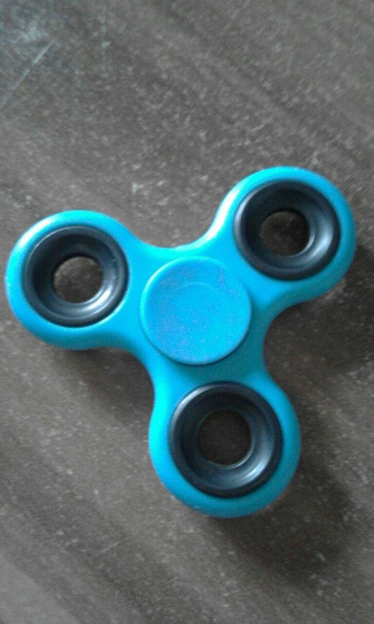 Blue Fidget spinner