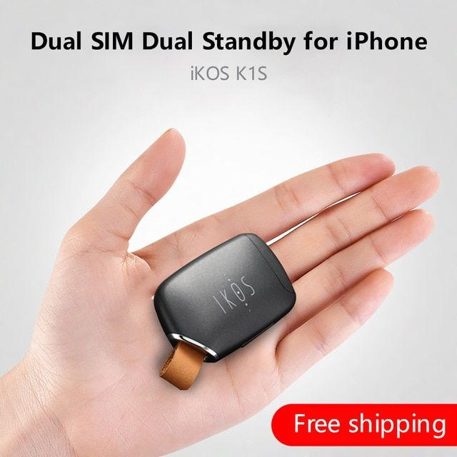 Dual Sim Dual Standby Adapter Ikos K1s No Jailbreak Ios 12call Text Functions For Iphone5 X I Pod Touch 6th I Pad Review Dual Sim Iphone5 Sims