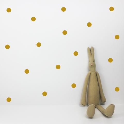 Dot Gold Wall Stickers